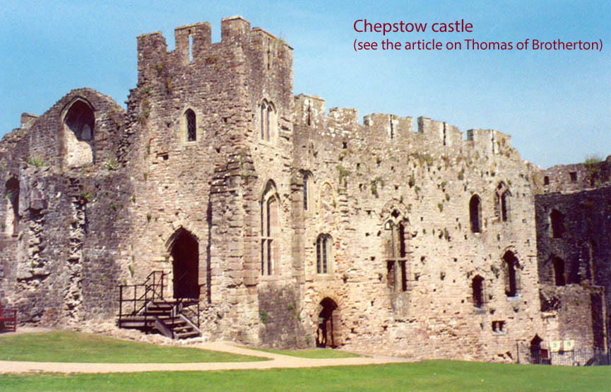 Cover pic Chepstow castle